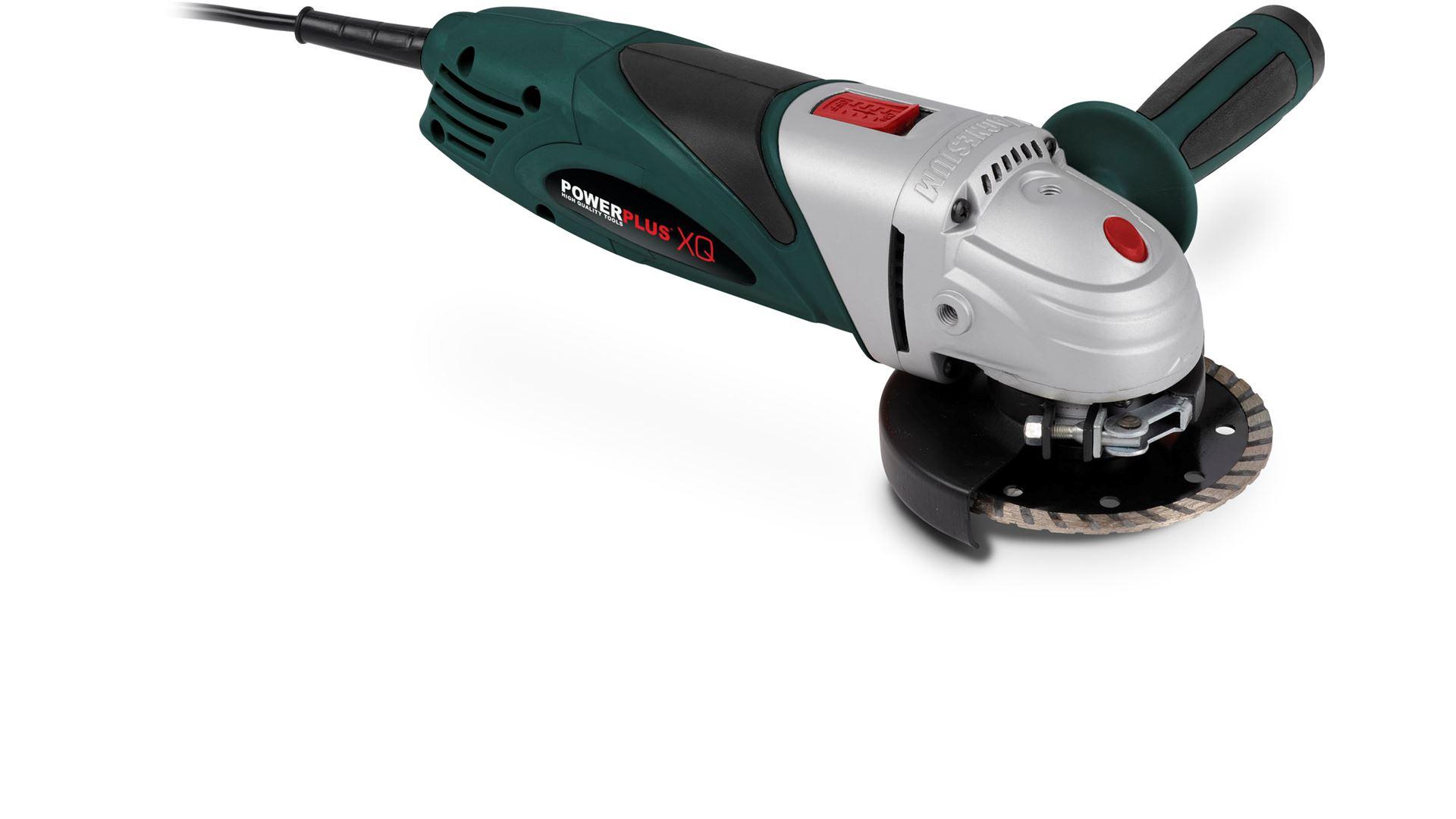POWXQ5102 Haakse Slijper 950W Ø115mm