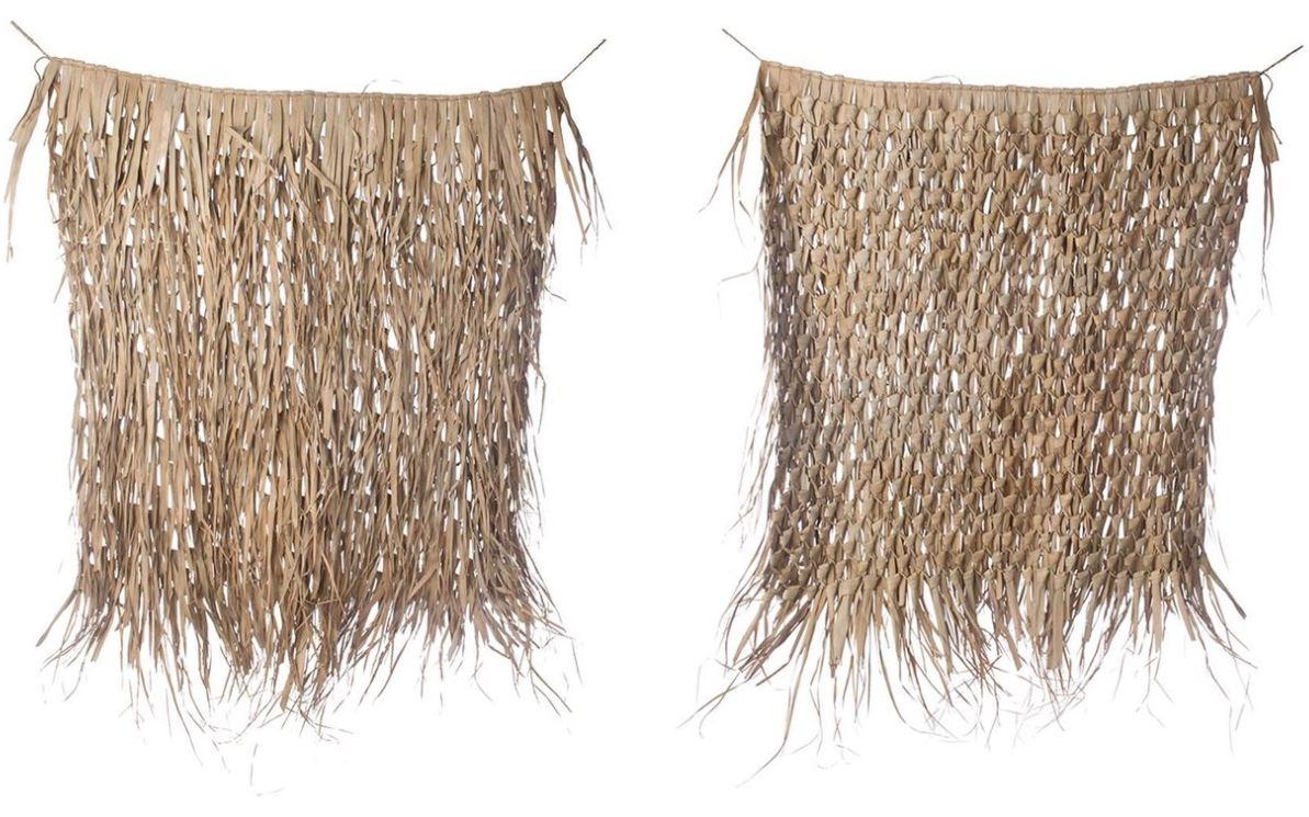 Dijk Natural Collections | Palm Bladeren Mat Wanddecoratie 120 x 120 cm