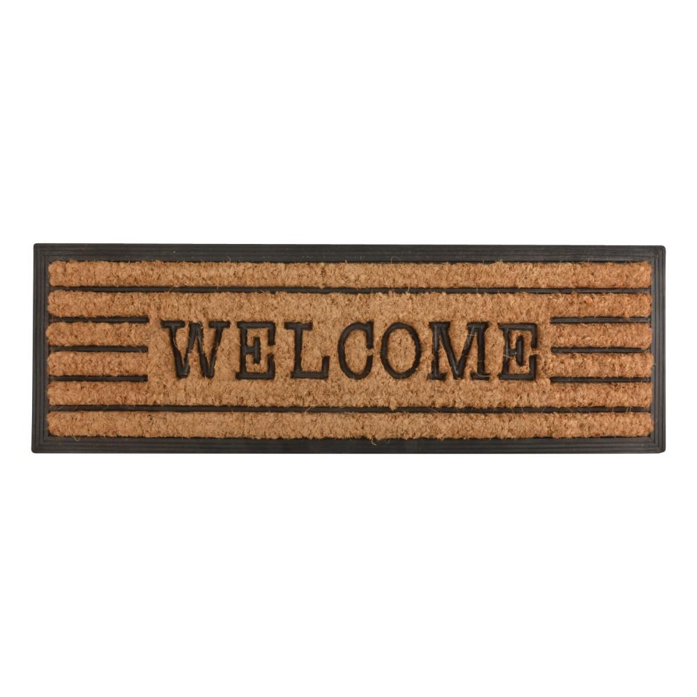 Esschert Deurmat Rubber en Kokos Welcome 75x25