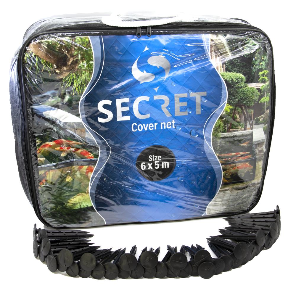 Secret cover net 6x5 meter