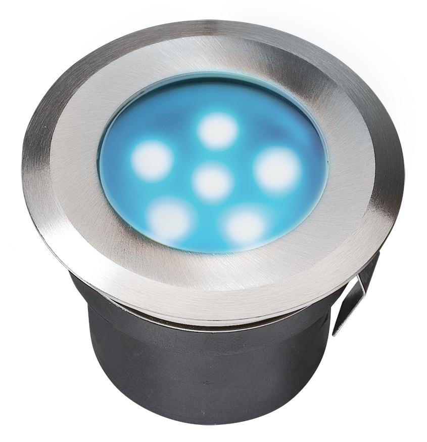 Garden Lights Grondspot Sirius Blauw LED