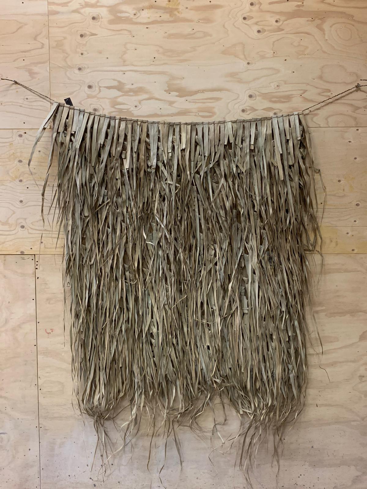 Palm leaf mat 120x120cm - Natural