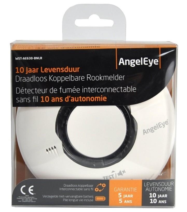 Angeleye Optische Rookmelder | Koppelbare rookmelder
