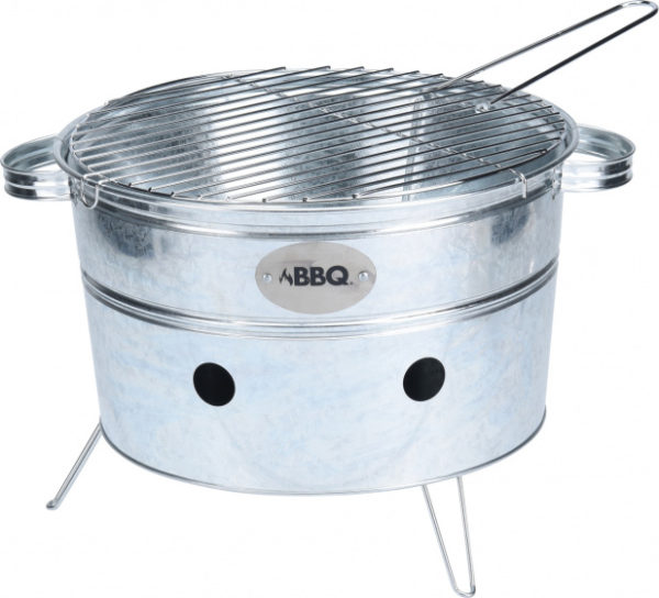 BBQ Draagbare Barbecue Rond 38 x 20 cm