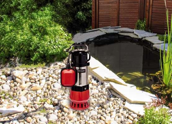 Einhell elektrische vuilwaterpomp GC-DP 5010 G sfeer