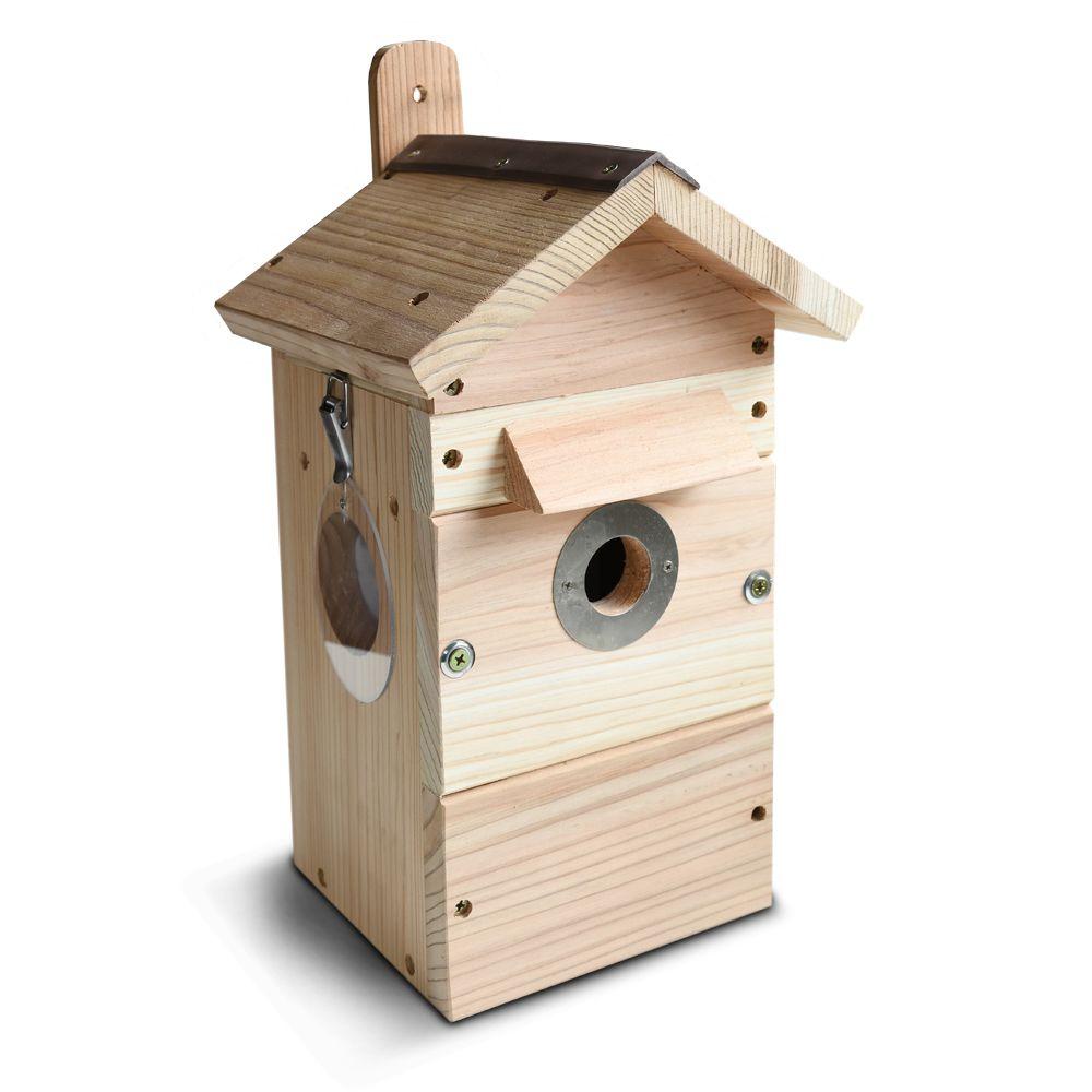 Vogelhuis Nestkast Met Camera