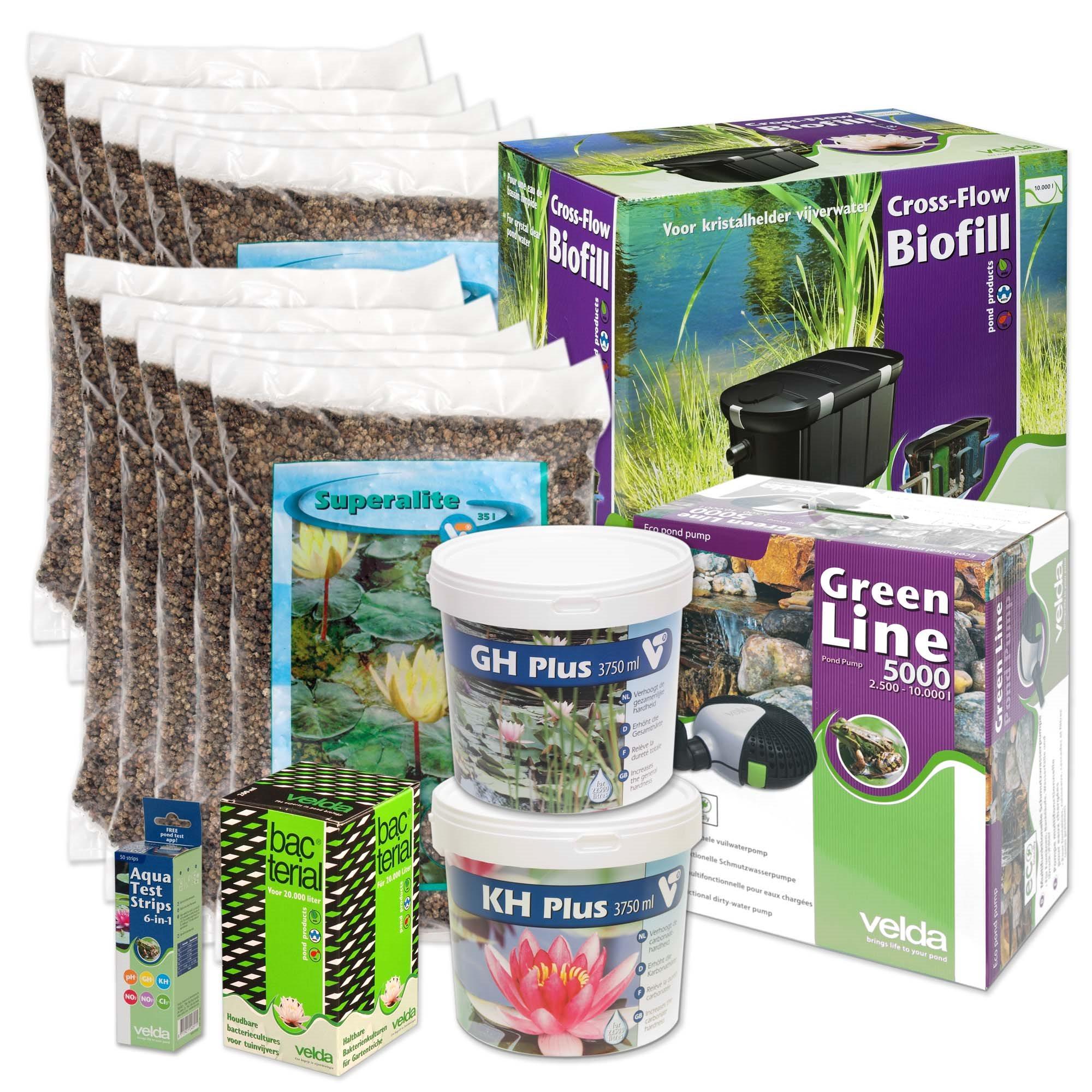 Vijverstartpakket Planten 10000l