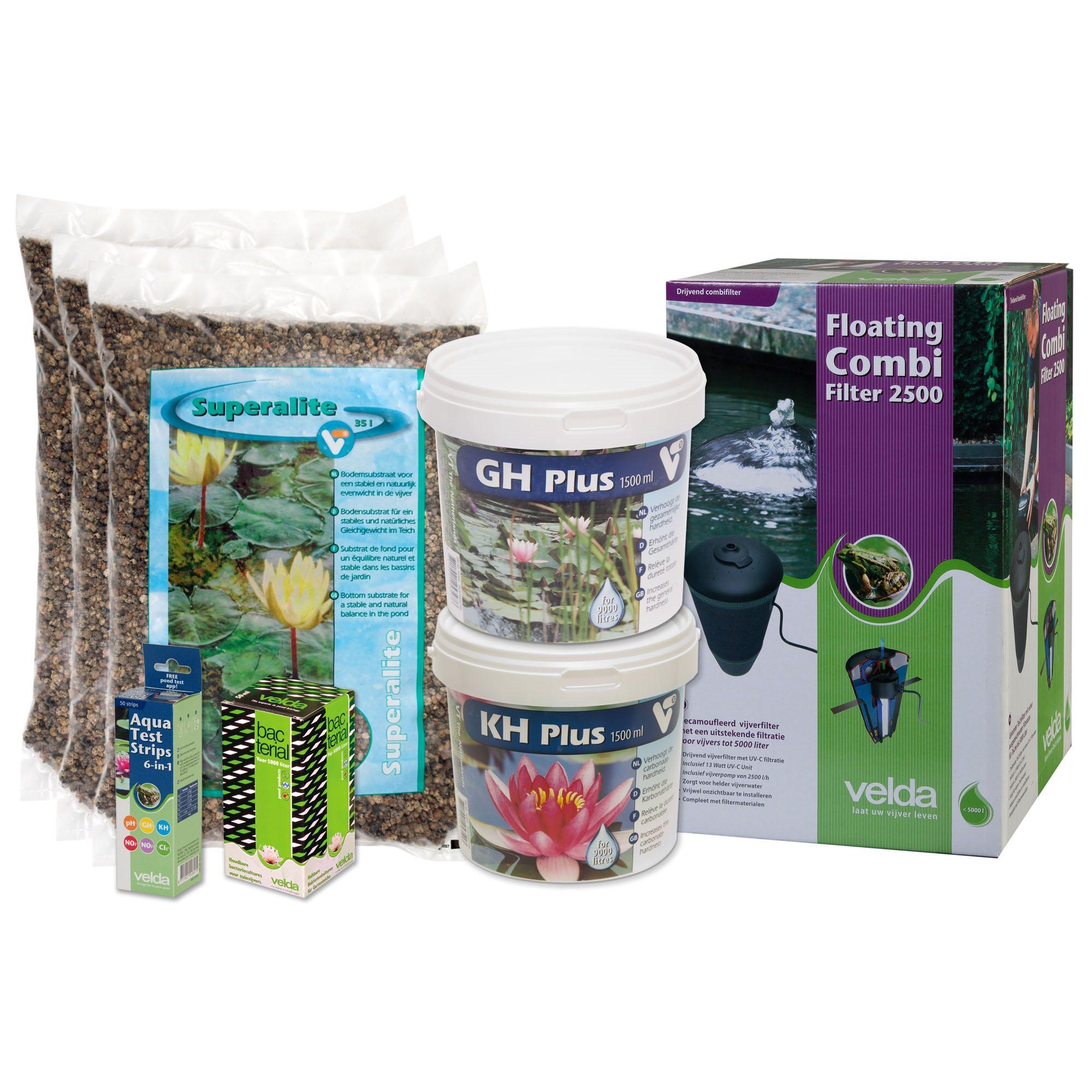 Vijverstartpakket Planten 3000l