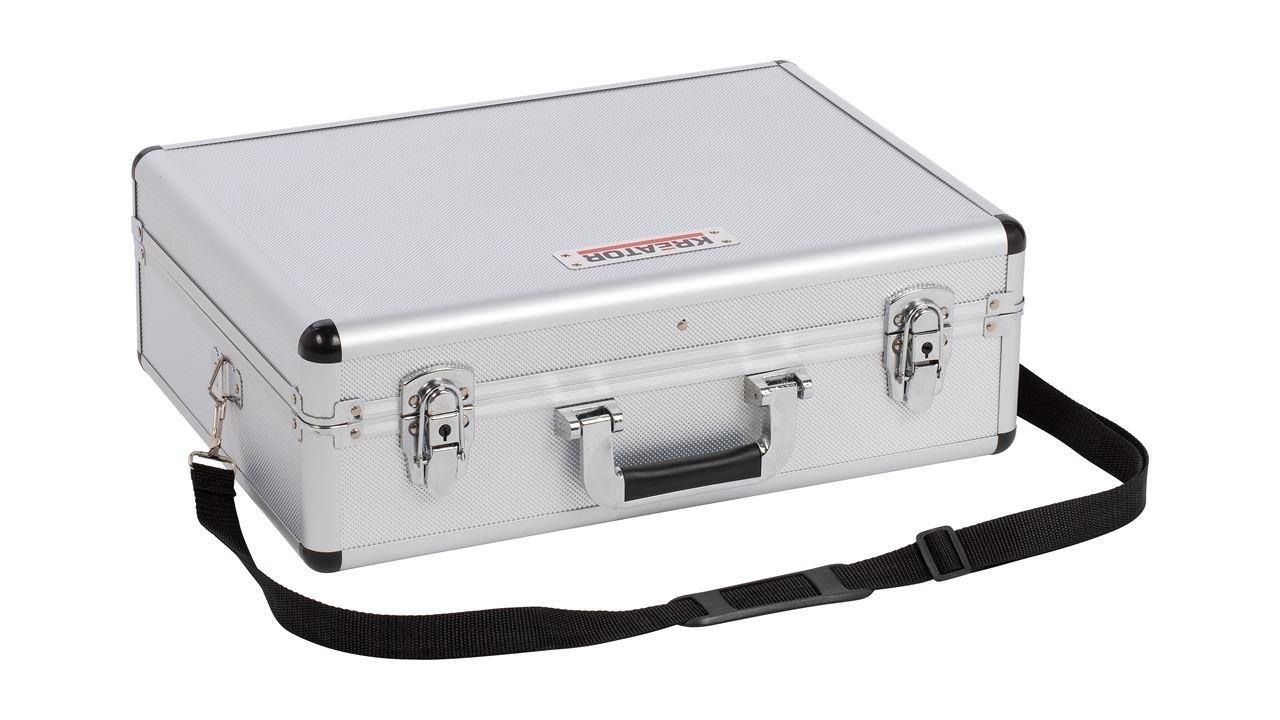 Kreator krt640102s opbergkoffer zilver