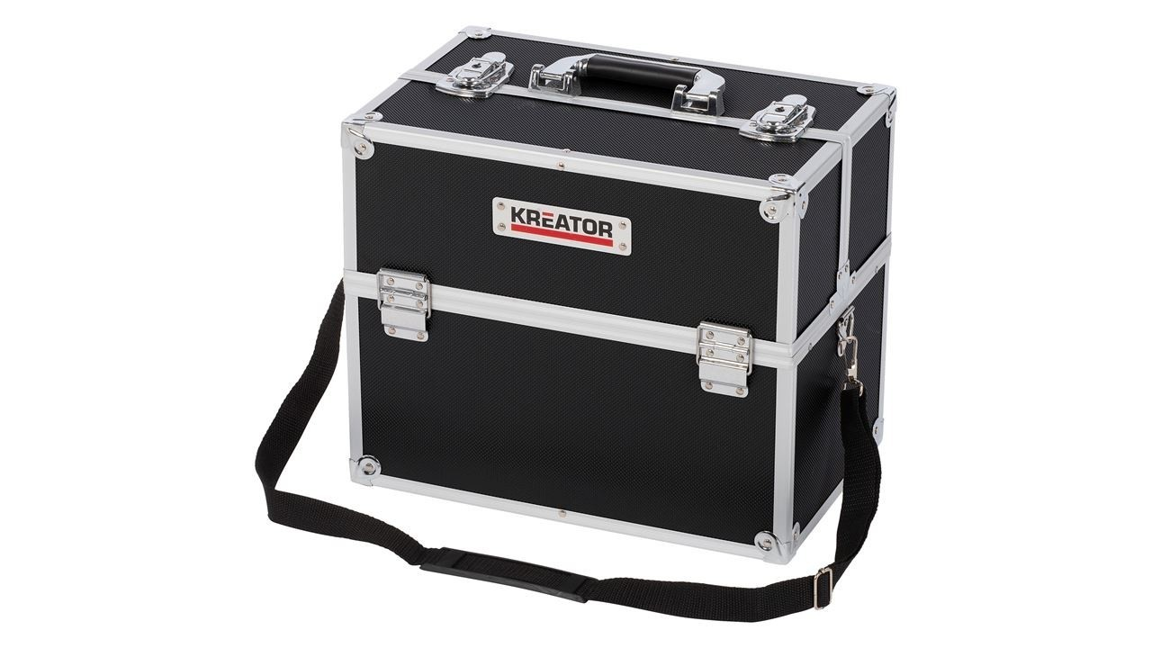 Kreator KRT640301B Aluminium beautycase | Make-up koffer