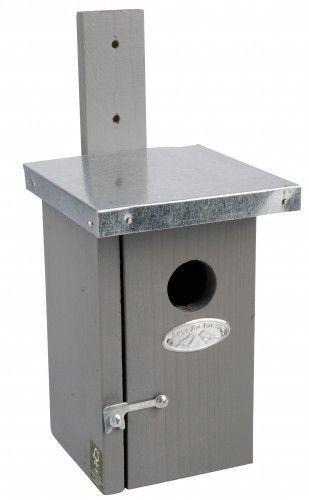 Esschert vogelhuis winterkoning grijs
