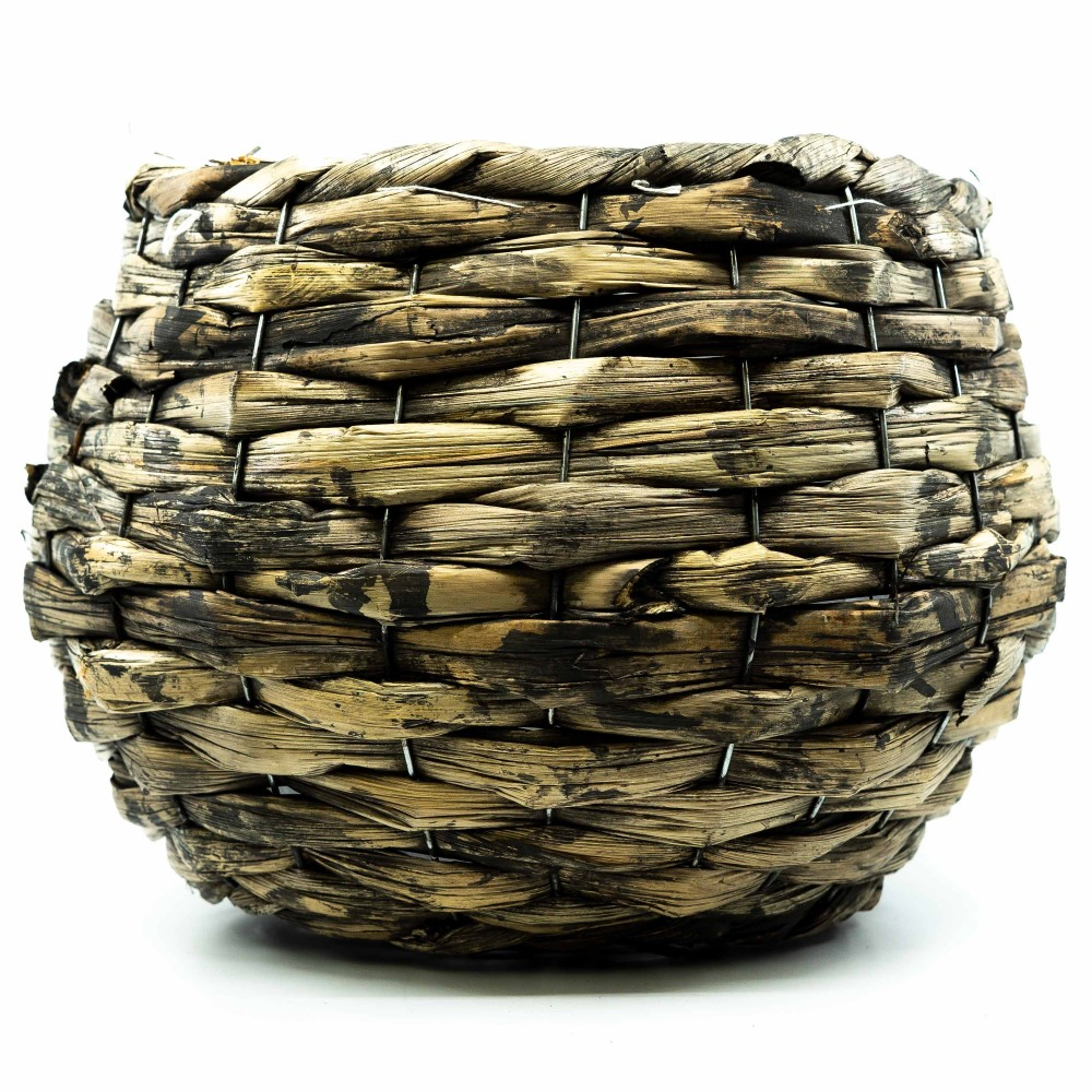 Planter willow 28x28x21cm w/pl