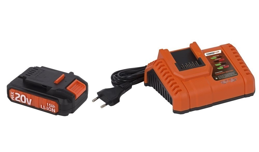 Powerplus 20 V Accu Set Dual-Power