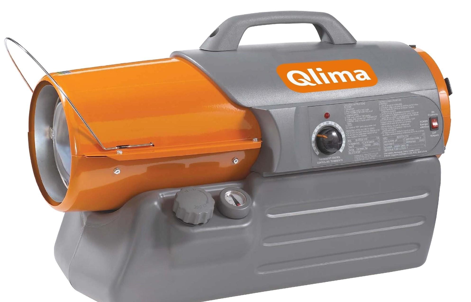 Qlima heteluchtkanon Premium DFA 1650