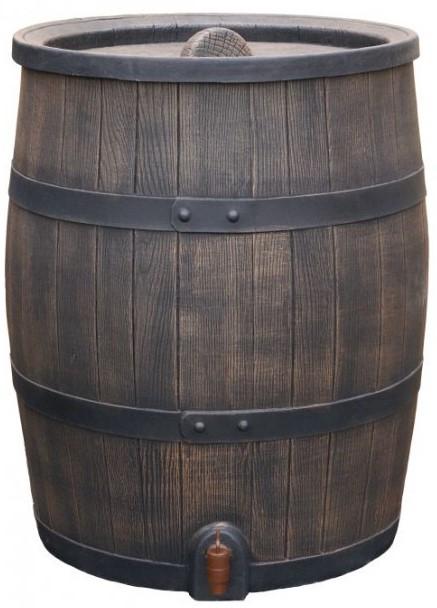 Roto regenton 120 liter bruin ø55 x 74 cm