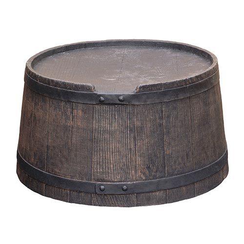 Voet voor Roto 50 liter bruin ø36-42cm H22 cm