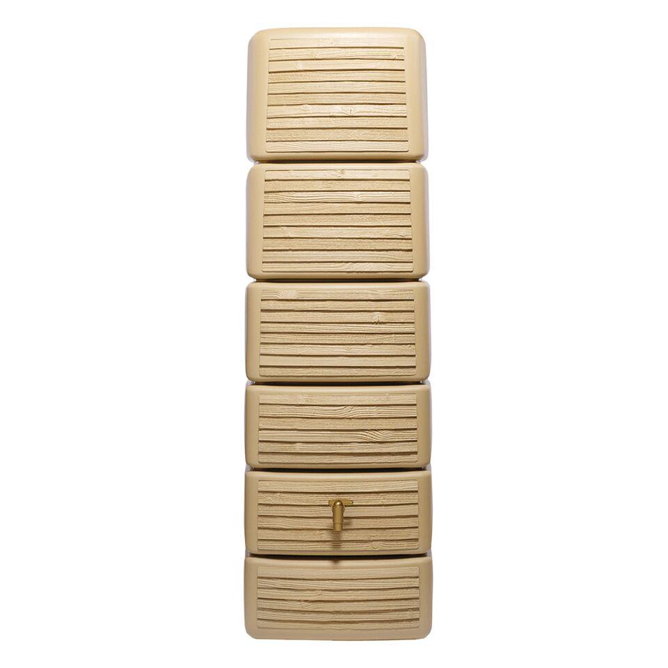 Garantia regenton Wood Decor beige 300 liter