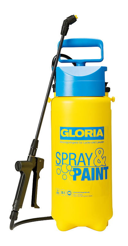 Gloria Spray & Paint - 5 liter Viton
