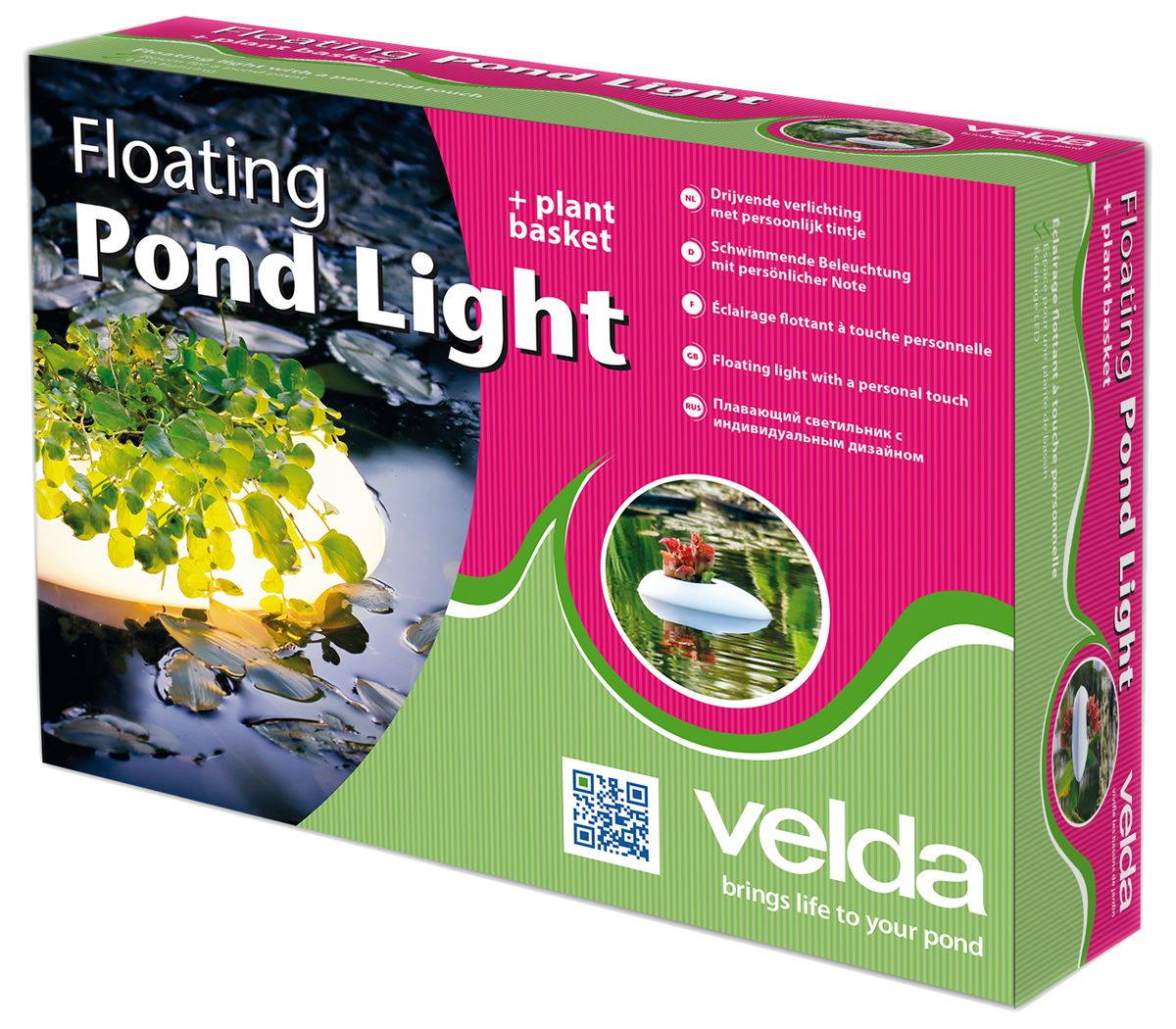 Floating Pond Light