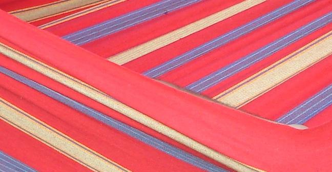 Vivere Braziliaanse Hangmat Single Regal Red