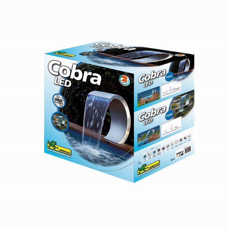 Cobra design verpakking led