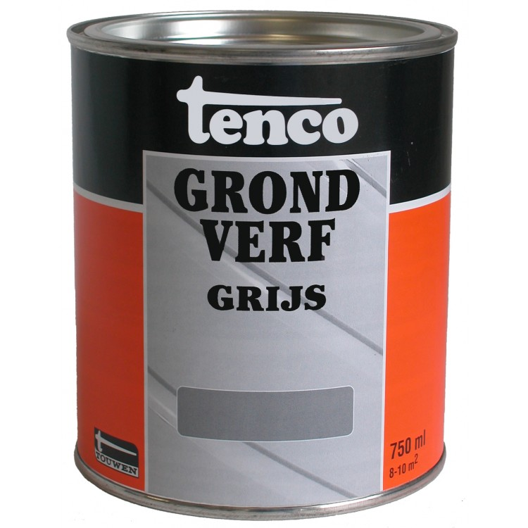 Tenco Grondverf Grijs 750 ml
