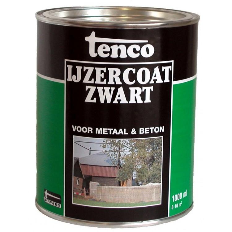 Tenco IJzercoating Zwart 1 Liter