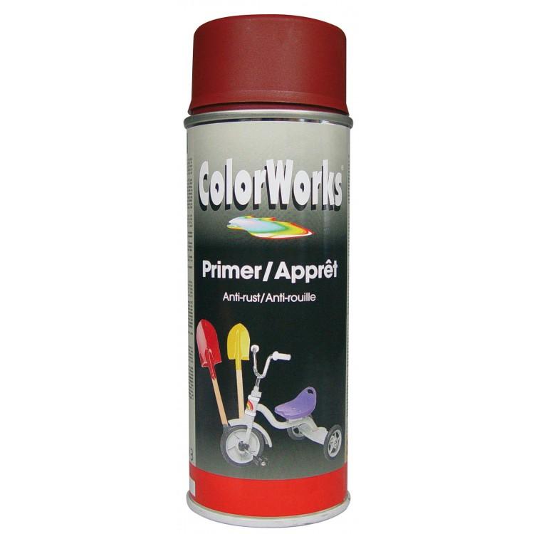 MoTip Colorworks Antiroestmiddel Rood 400 ml