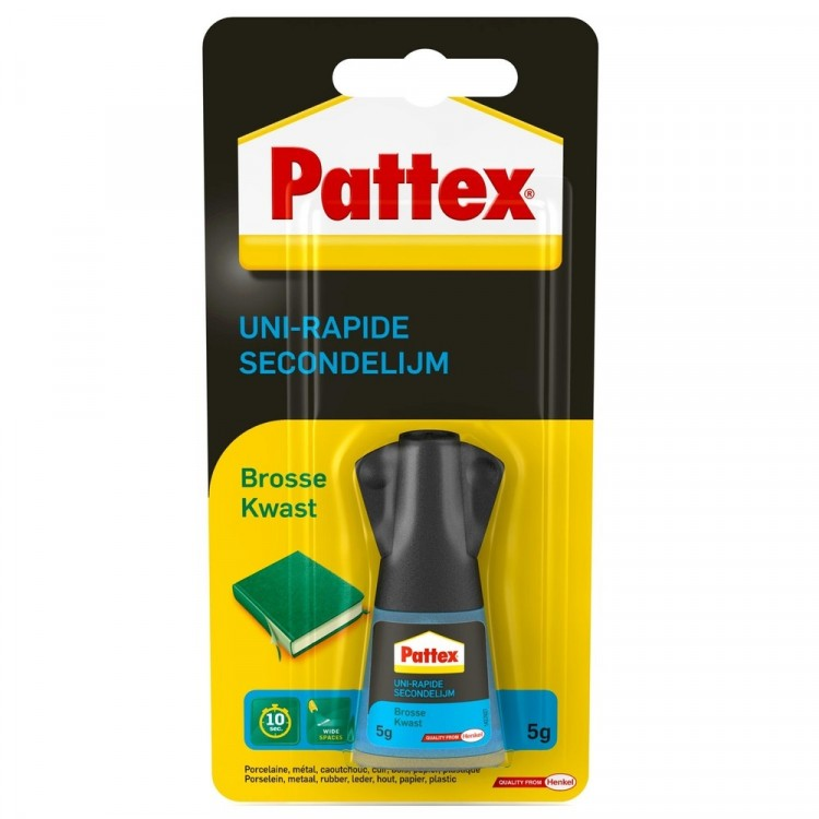 Pattex Secondelijm Met Kwast 5 Gram