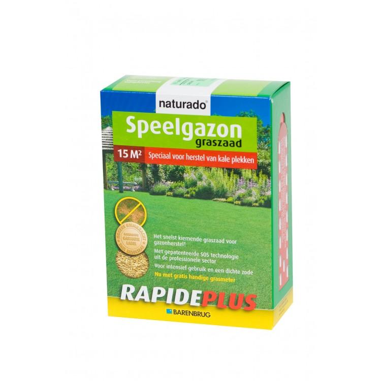 Naturado Graszaad Rapide Plus Voor Kale Plekken 270 Gram 15m2
