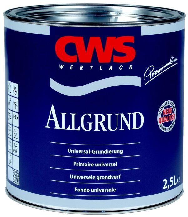 CWS Grondverf Allgrund Hoogglans Wit 750 ml