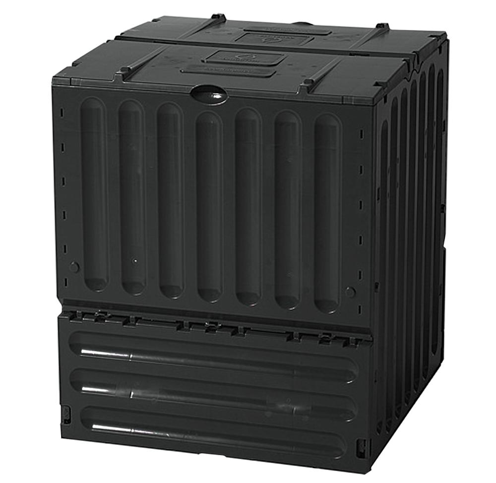MA Compostbak Eco King 400 Liter Zwart
