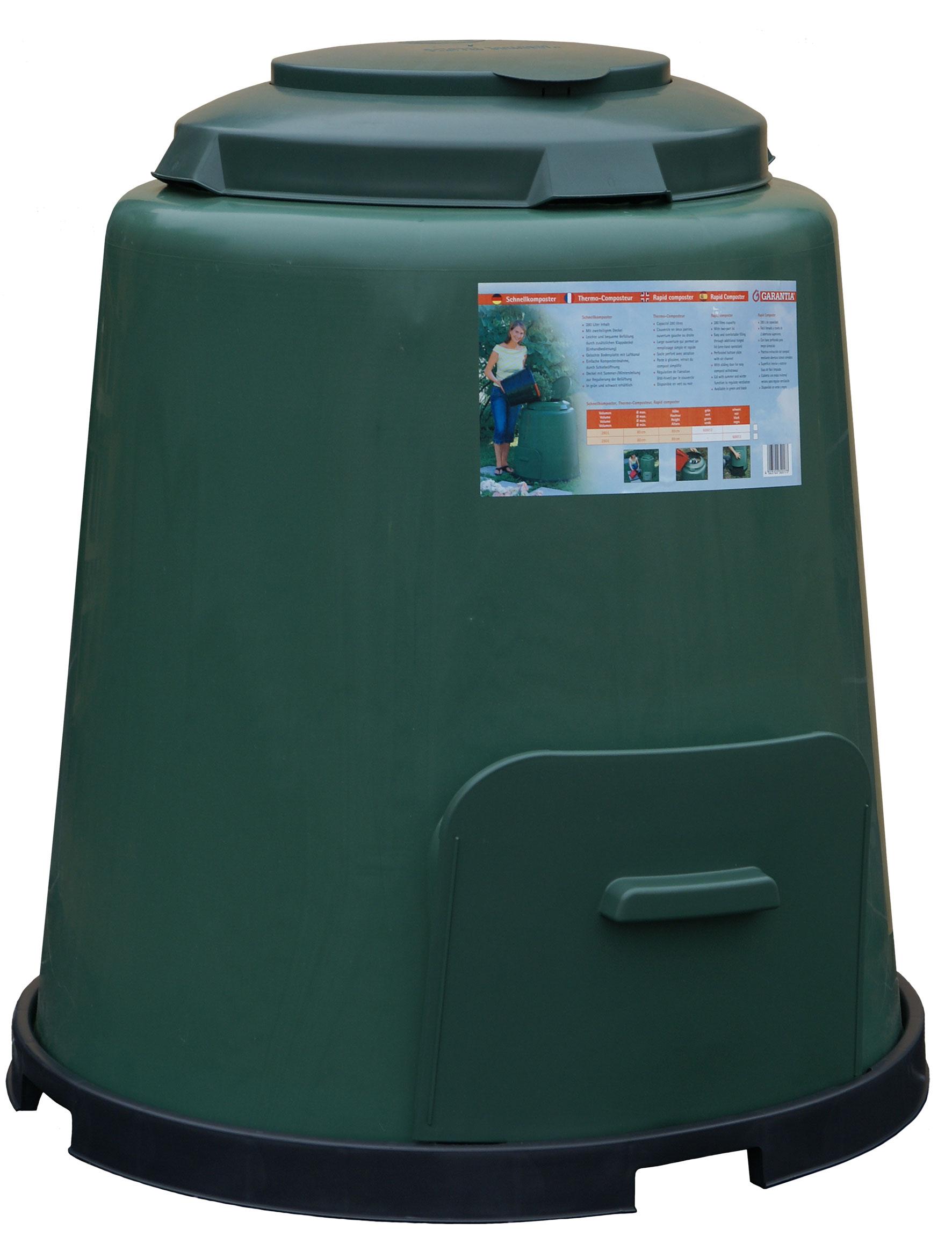 MA Compostvat Groen 280 Liter met Beluchting