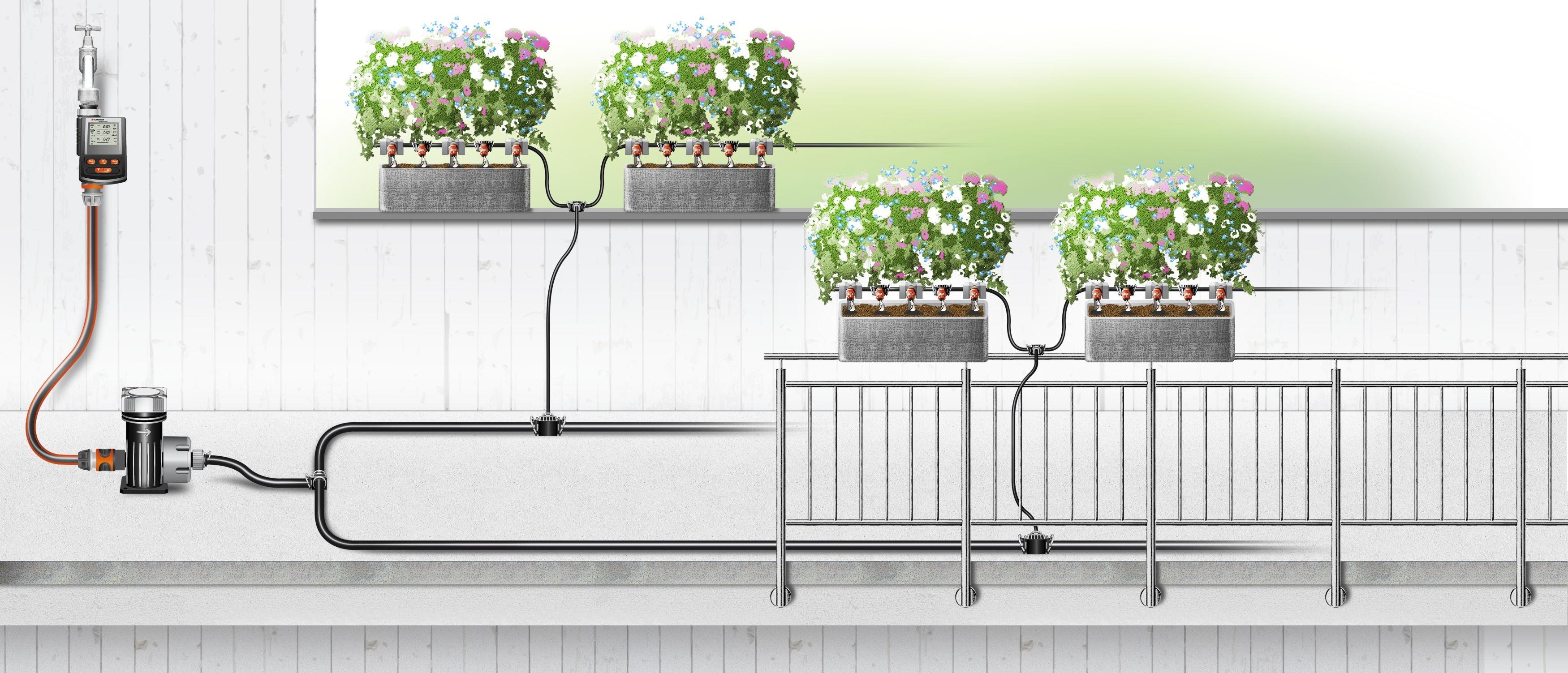 Gardena Micro Drip Aanvoerbuis