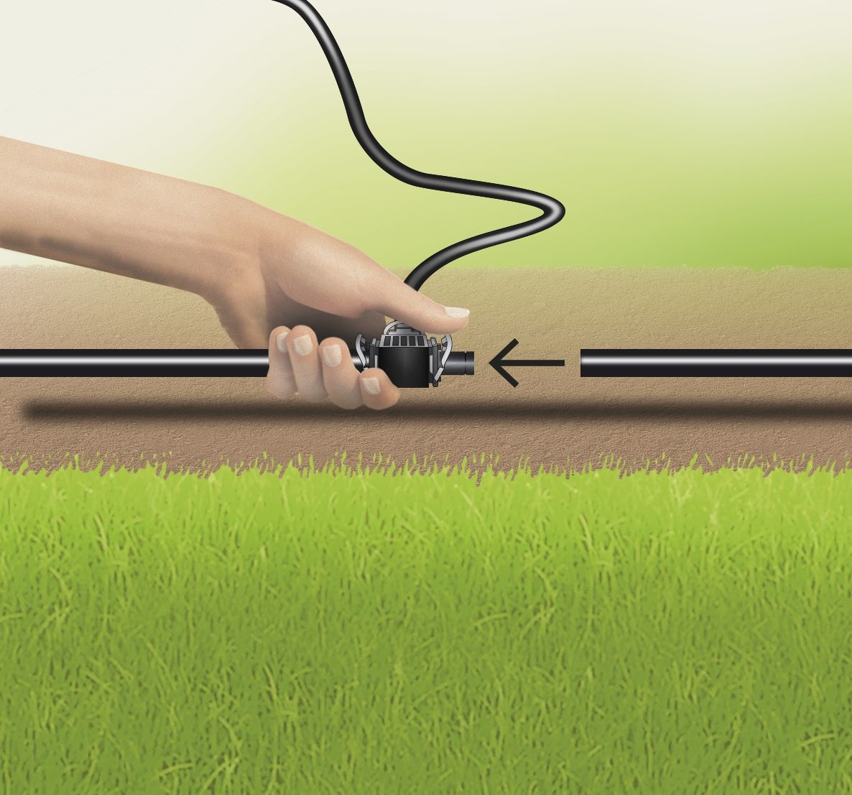 Gardena Micro Drip Aanvoerbuis Ø 13 mm 15 M