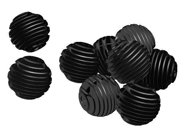 Filtermaterialen Velda Bioballen