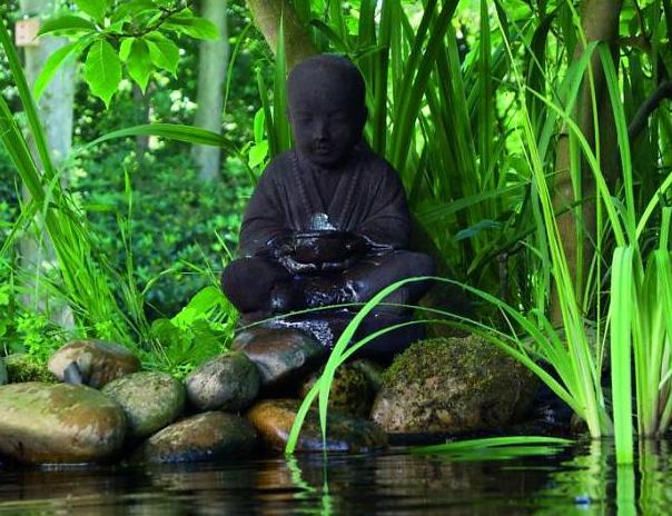Boeddha waterornament