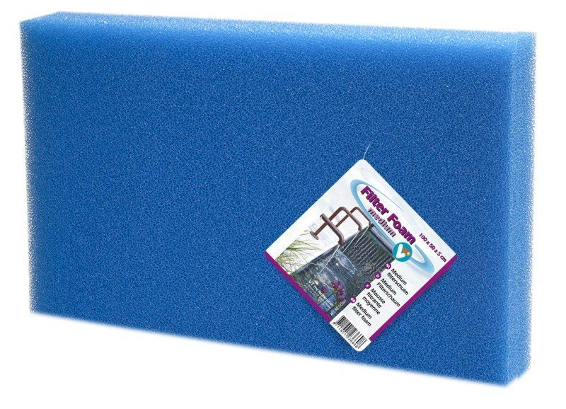 VT Filtermaterialen Medium Blauw 100x50x5