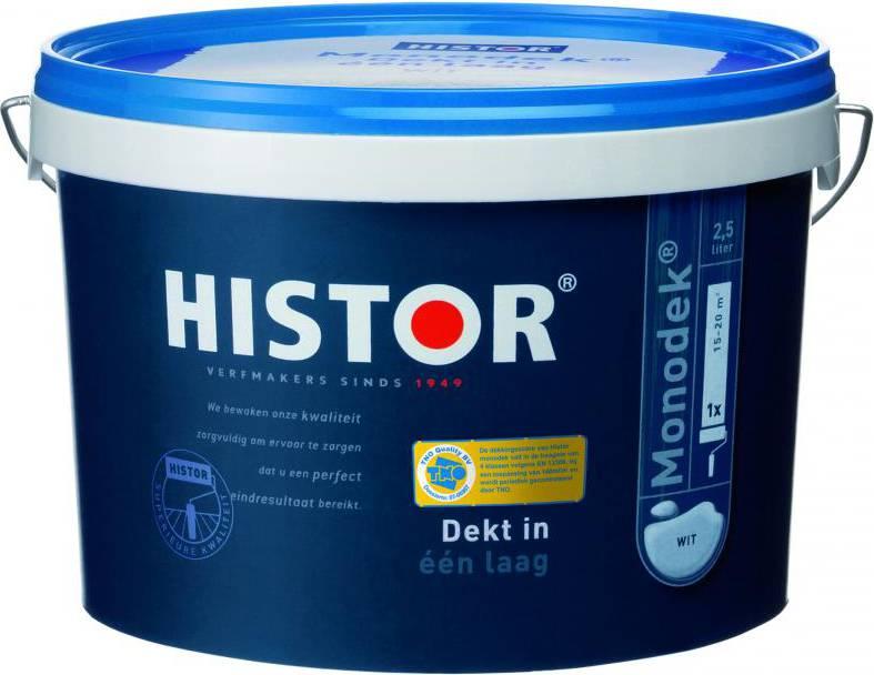 Histor Grondverf Perfect Base Acryl Wit 2.5 Liter