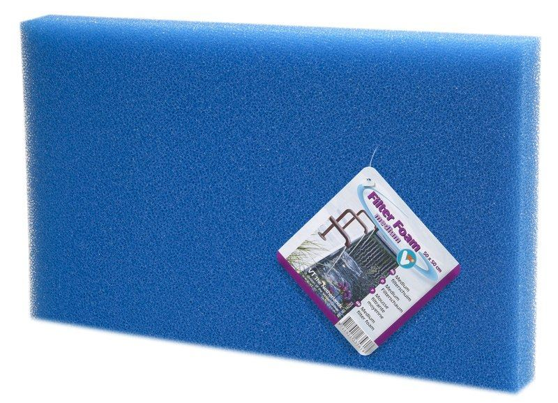 VT Filtermaterialen Medium Blauw 100x50x2