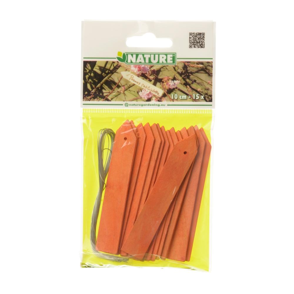 Nature Houten Plaatetiketten