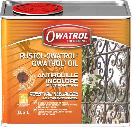 Owatrol Anti-Roest Olie Puur 500 ml