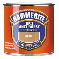Hammerite Grondverf Anti-Roest Mat Beige 250 ml