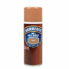 Hammerite Grondverf Anti-Roest Spray Mat Beige 400 ml