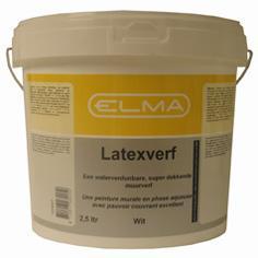 Elma Muurverf Wit 2.5 Liter