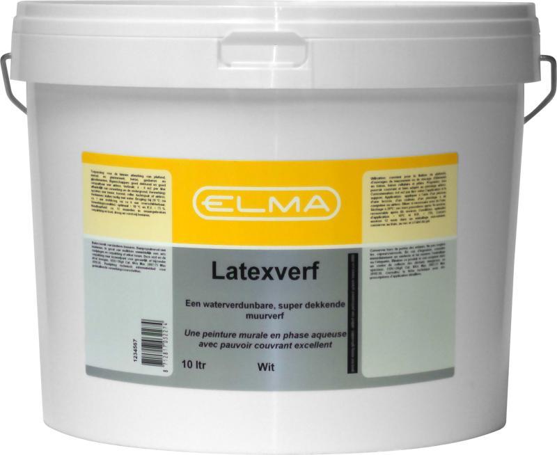 Elma Muurverf Wit 10 Liter