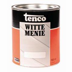 Tenco Tencometal Loodmenie Mat Wit 750 ml