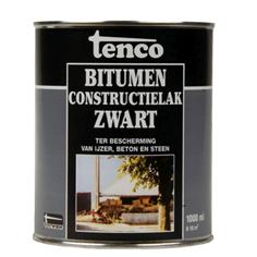 Tenco Constructielak Bitumen Zwart - 1 Liter