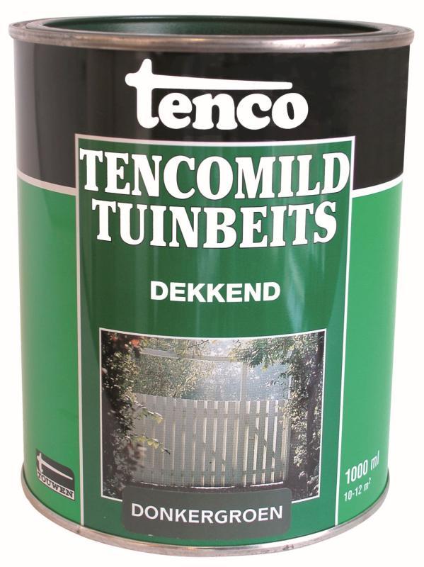 Tenco Tencomild Tuinbeits Dekkend Donkergroen 1 Liter