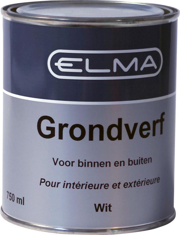 Elma Grondverf Wit 750 ml